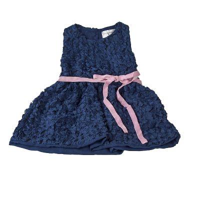 Marlene mørk blå kjole fra MLE