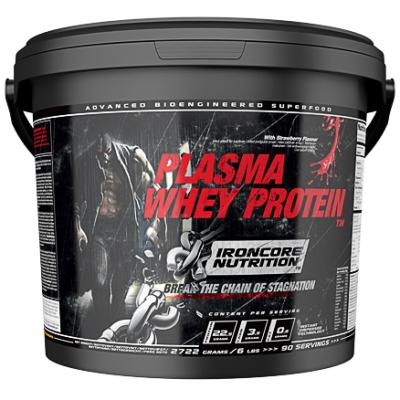 Ironcore Plasma Whey protein - jordbær