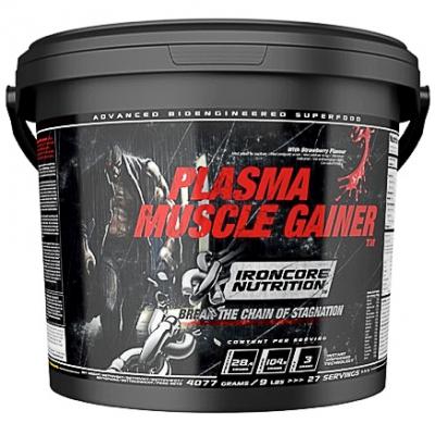Ironcore Plasma Muscle Gainer - Jordbær
