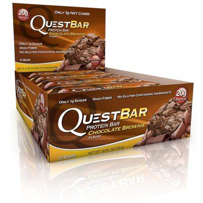 Quest Bars – Chokolate Brownies 12 stk