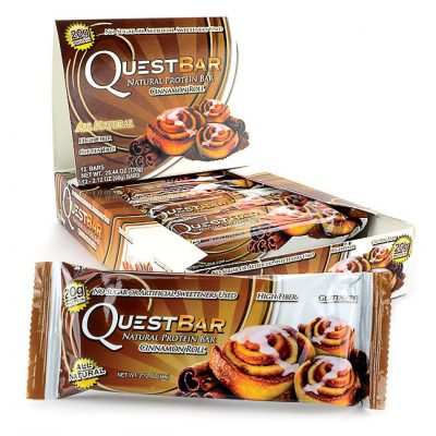 Quest Bars – Cinnamon Roll 12 stk