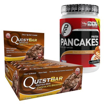 Proteindigg pakke Sjokolade og Brownie
